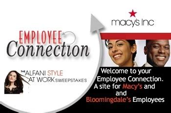 Employeeconnectionnet  Macy's Insite Employee Connection