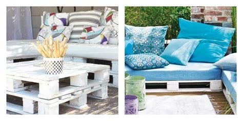 collection de salons de jardin en palettes astuces bricolage