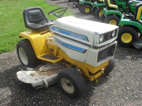 Cub Cadet 50 Deck by 1979 Cub Cadet 1650 Lawn Amp Garden And Commercial Mowing