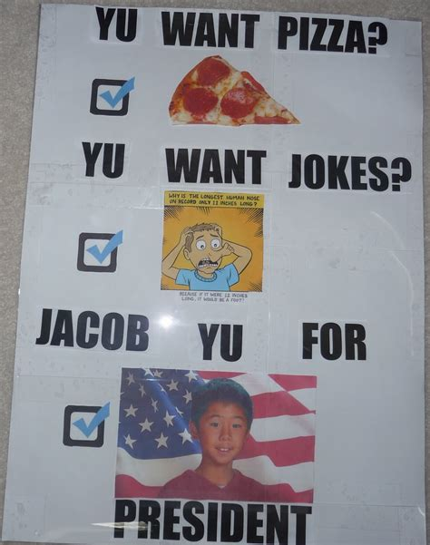 Student Council President Posters Topltk