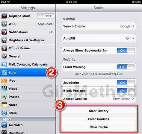 delete cookies on iphone clear history cache and cookies from safari browser on