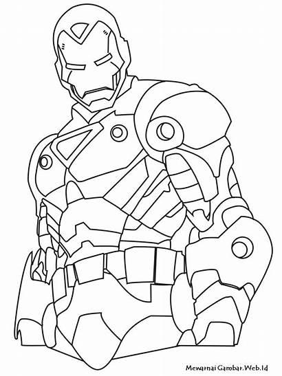 Mewarnai Gambar Iron Anak Untuk Laki Tweet