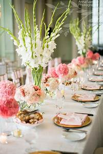 Anna and Spencer Photography, Floral Centerpieces on an ...