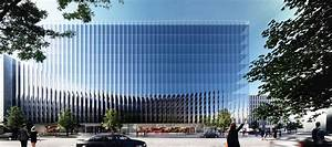 REX unveils a fluted glass office building in Washington ...