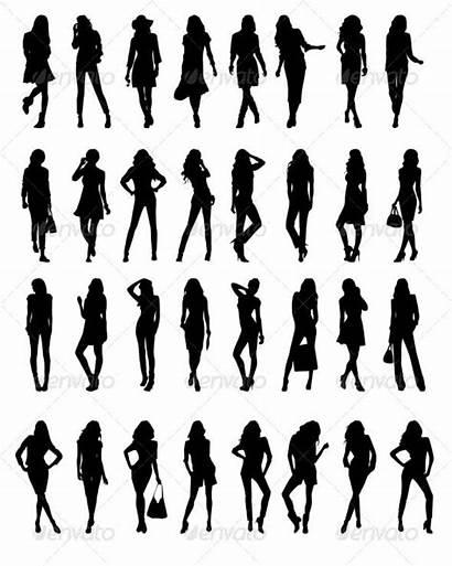 Silhouette Silhouettes Woman Template Clip Poses Boudoir