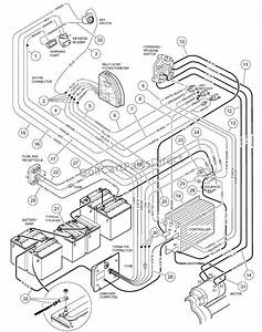 Golf Cart Electrical Diagram