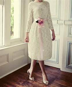 Casual Tea Length Lace Dress | Dresses Trend
