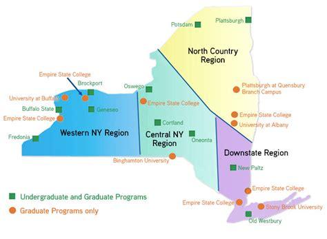 ten regional networks suny