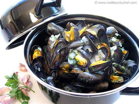 cuisine moules moules marinières notre recette avec photos