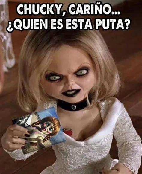 Chucky Memes - la novia de chucky celosa de annabelle movies pinterest