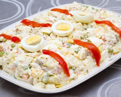 boite de cuisine recette ensaladilla salade de pommes de terre à l 39 espagnole