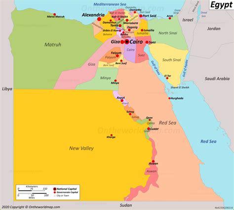 Egypt Map Maps Of Egypt