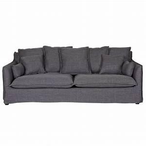 Sofa Und Co : 3 sitzer sofa couch mila dunkelgrau sofa co sofa und 3 sitzer sofa ~ Orissabook.com Haus und Dekorationen