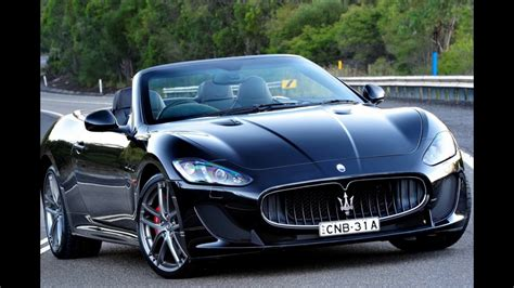 sport car  maserati granturismo  convertible youtube