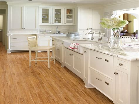 floors light cabinets kitchen engineered bamboo floor country kitchens with white 8556