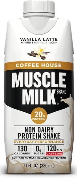 Tastes amazing hot or cold. Caffeine in Muscle Milk Coffee House
