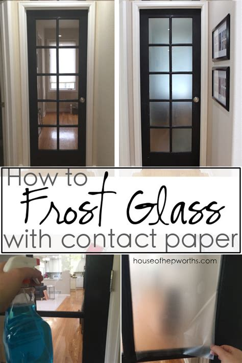frost glass  contact paper house  hepworths