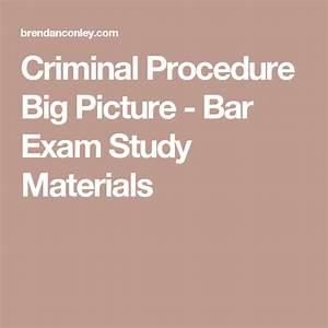 Criminal Procedure Big Picture