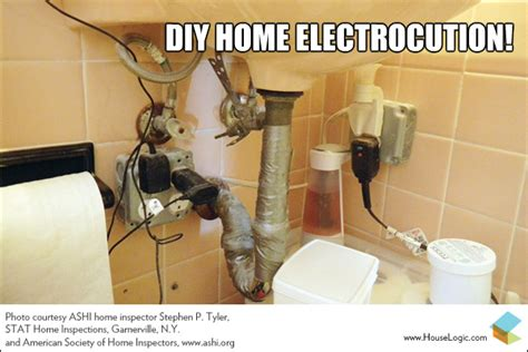 funny fail diy home electrocution