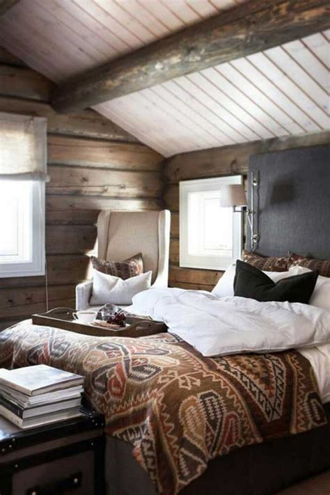 56 Extraordinary Rustic Log Home Bedrooms — Style Estate