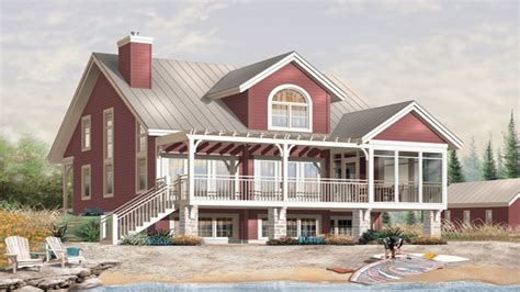 small lakefront home plans small waterfront home designs plan waterfront house plan