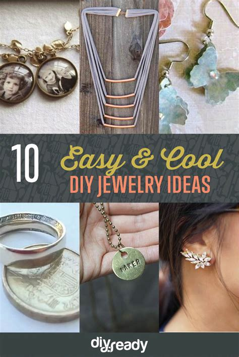 cool easy diy jewelry ideas diy projects craft ideas