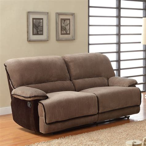 tribecca home selena brown corduroy sofa contemporary