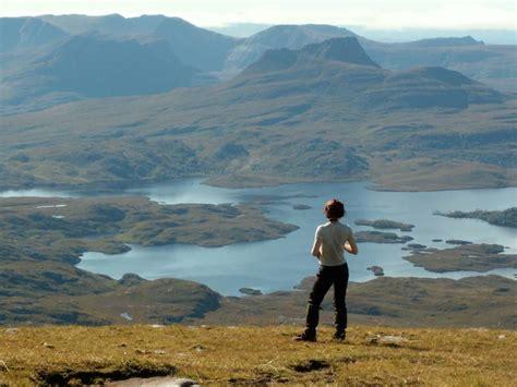 open canoeing  north west highlands wilderness scotland