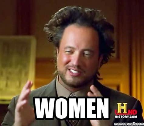 Meme Women - aliens meme women