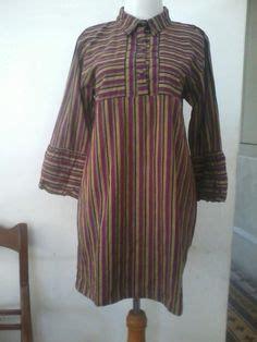 gambar model baju lurik  terbaik   gaun