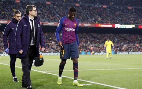 FC Barcelona: Dembélé no llega a la final de Copa - Fútbol ...