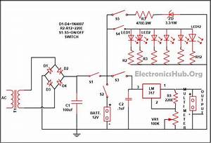 Mobile Phone Travel Charger Circuit Diagram