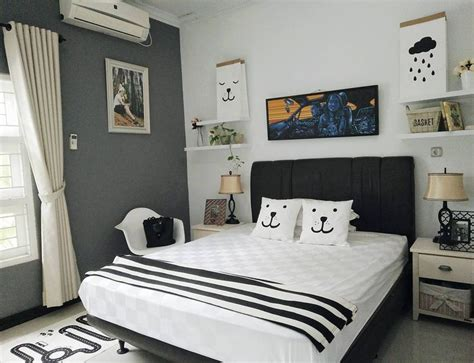 Desain Kamar Tidur Sederhana Ukuran 3x3  Dekorasi Kamar