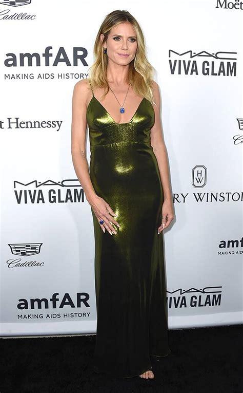 Heidi Klum From Amfar Inspiration Gala Arrivals News