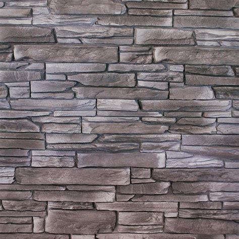 Wandverkleidung Außen Stein by Wandverkleidung Black 39 X 11 2 Cm Schwarz