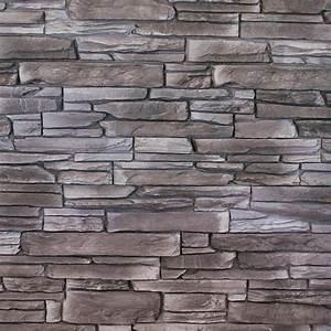Wandverkleidung Außen Steinoptik : wandverkleidung haze black 39 x 11 2 cm schwarz ~ Michelbontemps.com Haus und Dekorationen