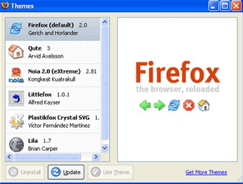 firefox firefox manager search customization