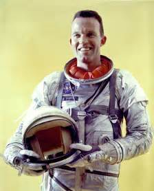 Image result for Gordon Cooper returned to Earth,