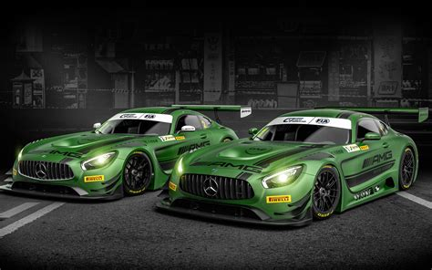 2017 Mercedes Amg Gt3 Wallpapers Hd Wallpapers Id 19021
