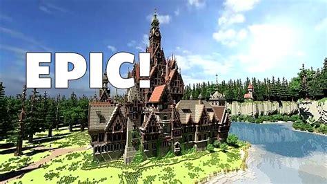 minecraft   build epic structures  minutes  glitch  console minecraft  pc
