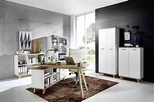 H C Möbel : 6tlg arbeits b rozimmer mod gm706 weiss san remo eiche h c m bel ~ Watch28wear.com Haus und Dekorationen