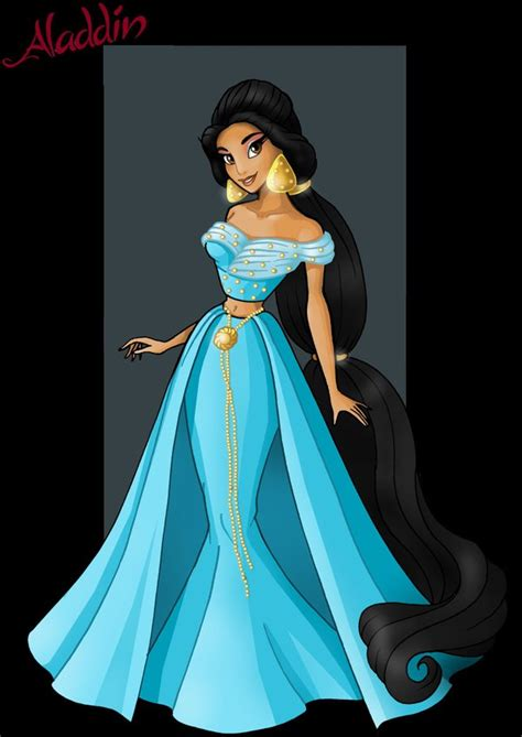 princess jasmine   designer princess by nightwing1975 on DeviantArt