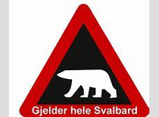 Verkehrsschild Norwegen Eisbär Elchschilder Onlineshop