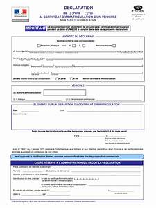 Quel Document Pour Une Carte Grise : cerfa 13753 02 fichier pdf ~ Medecine-chirurgie-esthetiques.com Avis de Voitures