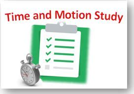 time  motion study excel template   updated