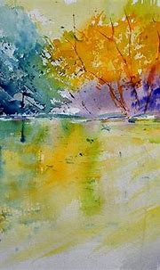 Watercolor 219041 Painting by Pol Ledent