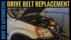 How To Replace A Serpentine Belt On A 2004 Honda Cr