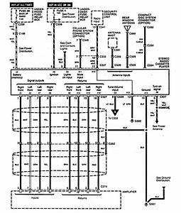 Acura Legend  1995  - Wiring Diagram