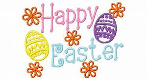 Happy Easter Sign - ClipArt Best