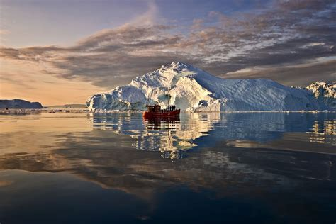greenland snow sunset sea iphone extraordinary icebergs 55 reasons why majestic